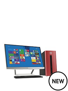 hp-pavilion-550-032na-intelreg-coretrade-i3-processor-8gb-ram-1tb-hdd-storage-desktop-pc-bundle-with-23-inch-monitor-and-optional-microsoft-office-365-personal-sunset-red