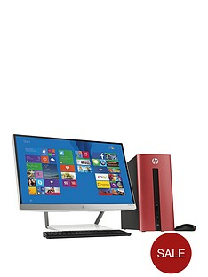 hp-pavilion-550-032na-intelreg-coretrade-i3-processor-8gb-ram-1tb-hdd-storage-desktop-pc-bundle-with-23-inch-monitor-and-optional-microsoft-office-365-personal-sunset-red