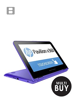 hp-pavilion-x360-11-k006na-intelreg-celeronreg-4gb-ram-500gb-storage-intelreg-hd-graphics-116-inch-touchscreen-2-in-1-laptop-with-optional-microsoft-office-personal-365-purple