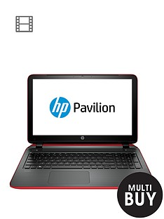 hp-pavilion-15-ab078na-amd-a8-quad-core-processor-8gb-ram-1tb-storage-amd-r7m360-2gb-graphics-156-inch-laptop-with-optional-microsoft-office-personal-365-red