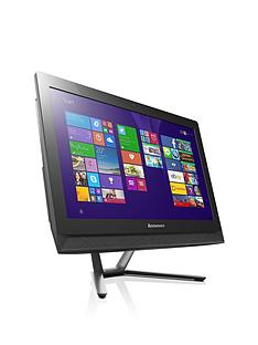 lenovo-c40-intelreg-pentiumreg-processor-4gb-ram-1tb-hdd-storage-215-inch-all-in-one-desktop-with-optional-microsoft-office-365-personal-black