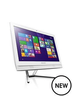 lenovo-c40-intelreg-coretrade-i3-8gb-ram-1tb-hdd-storage-215-inch-all-in-one-desktop-with-optional-microsoft-office-365-personal-white