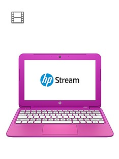 hp-stream-11-d016na-intelreg-celeronreg-processor-2gb-ram-32gb-storage-116-inch-laptop-with-optional-microsoft-office-365-personal-magenta