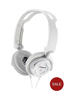 panasonic-rp-djs150e-w-on-ear-headphones-with-microphone