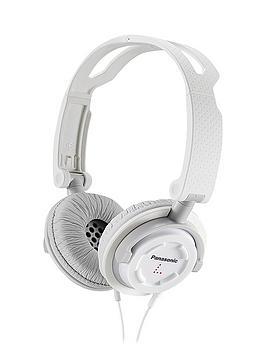 panasonic-rp-djs150e-w-on-ear-headphones-with-microphone