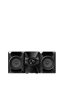 Sony MHCECL77BT HiFi System with NFC and Bluetooth&reg  Black