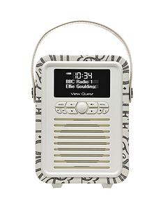 view-quest-emma-bridgewater-retro-mini-dab-radio-black-toast
