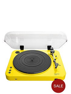 lenco-l-85-usb-direct-recording-turntable-yellow