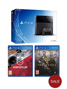 playstation-4-console-with-the-order-1886-driveclub-and-optional-12-months-playstation-plus-or-dualshock-4-controller