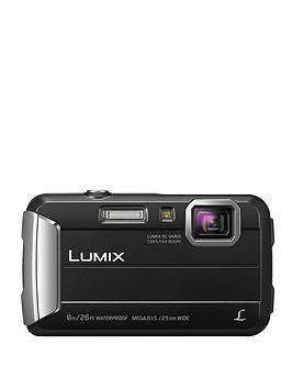 Panasonic DmcFt30EbK Tough Waterproof Compact Digital Camera  Black