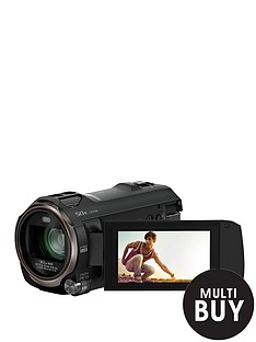 panasonic-pound30-cashbacksup1-hc-v770eb-k-full-hd-camcorder-with-20x-optical-zoom-and-wifi