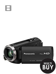panasonic-pound60-cashbacksup1-hc-v270eb-k-full-hd-camcorder-with-50x-optical-zoom-and-wi-fi
