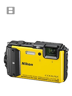 nikon-coolpix-aw130-16-megapixel-digital-camera-yellow