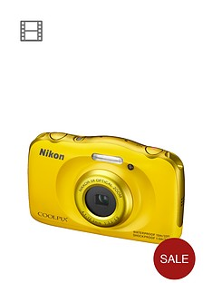 nikon-coolpix-s33-13-megapixel-digital-camera-yellow