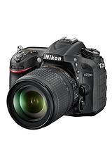 D7200 24.2 Megapixel DSLR Camera + 18-105mm Lens - Black