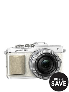 olympus-pen-e-pl7-camera-with-ed-14-42-mm-mzuiko-ez-pancake-lens-kit-white