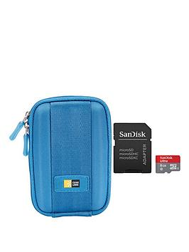 case-logic-point-and-shoot-camera-case-blue-ultra-android-microsdhc-8gb-inc-sd-adapter-bundle
