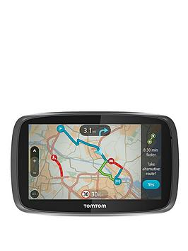 tomtom-go-5100-world-sat-nav-uk-ie
