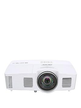 Acer H6517St Full Hd 1920 X 1080 Dlp Short Throw 169 3D Home Cinema Projector With Remote