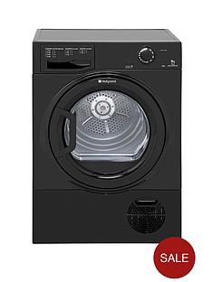hotpoint-tcfm80cgk-8kg-condenser-dryer-black