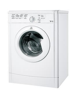 indesit-ecotime-idvl75br-7kg-vented-sensor-dryer-white