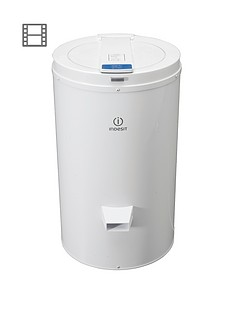 indesit-isdg428-2800-spin-4kg-load-freestanding-spin-dryer-white