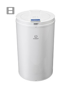 indesit-isdp429-2800-spin-4kg-load-freestanding-spin-dryer-white
