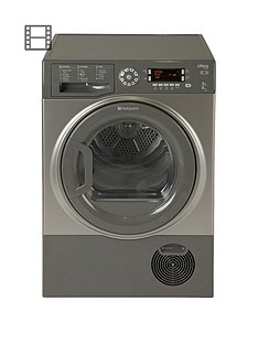 hotpoint-sutcd97b6gm-ultima-9kg-condenser-dryer-graphite