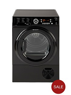 hotpoint-sutcd97b6gm-ultima-9kg-condenser-dryer-black-b-energy