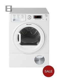 hotpoint-sutcd97b6p-ultima-9kg-condenser-dryer-white-b-energy