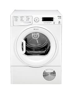 hotpoint-sutcdgreen9a1-ultima-9kg-heat-pump-condenser-dryer-white-a-energy