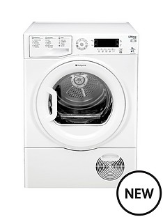 hotpoint-sutcdgreen9a1-ultima-9kg-heat-pump-condenser-dryer-white-a-energy