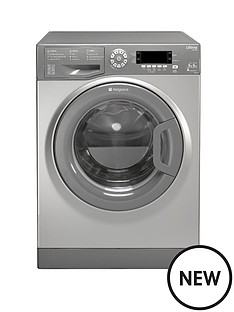 hotpoint-swd9667g-ultima-9kg-load-9kg-dryer-1600-spin-washer-dryer-graphite
