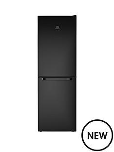 indesit-ld70n1k-60-cm-frost-free-combi-fridge-freezer-18m-black