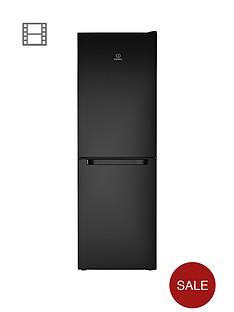 indesit-ld70n1k-60cm-frost-free-combi-fridge-freezer-black