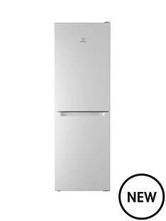 indesit-ld70n1w-60-cm-frost-free-combi-fridge-freezer-18m-white