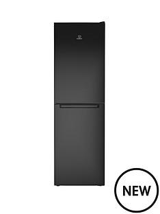 indesit-ld85f1k-60-cm-frost-free-combi-fridge-freezer-19m-black