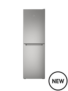 indesit-ld85f1s-60-cm-frost-free-combi-fridge-freezer-19m-silver