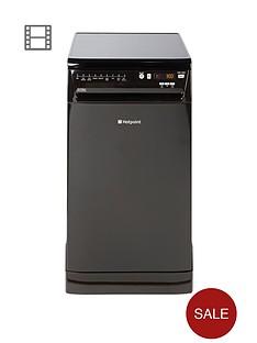 hotpoint-ultima-siuf22111k-10-place-slimline-dishwasher-black