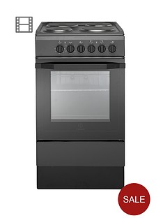 indesit-i5esha-50-cm-single-oven-electric-cooker-anthracite