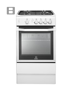 indesit-i5ggw-50cm-single-oven-gas-cooker-with-fsd-white