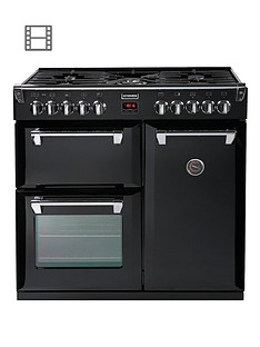 stoves-richmond-900dft-90cm-dual-fuel-range-cooker-with-connection-black
