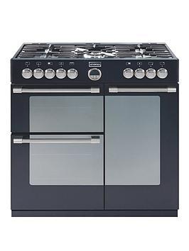 stoves-richmond-900dft-90cm-dual-fuel-range-cooker-black