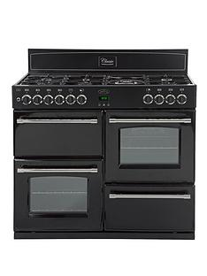 belling-classic-100gt-100cm-gas-range-cooker-with-connection-black