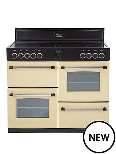 belling-classic-100e-100-cm-electric-range-cooker-with-connection