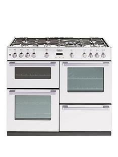 belling-db4100g-100cm-gas-range-cooker-white