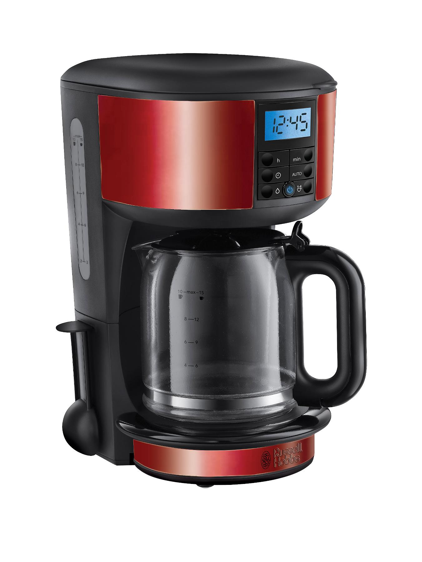 Russell Hobbs Coffee Maker Red : Russell Hobbs 20682 Legacy Coffee Maker - Red littlewoods.com