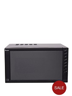 swan-sm22050b-800-watt-23-litre-mirror-door-microwave-black