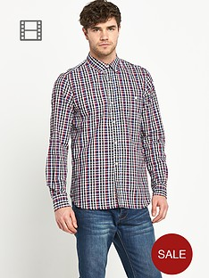 french-connection-mens-long-sleeved-check-shirt