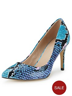 carvela-kirsty-snake-print-court-shoes